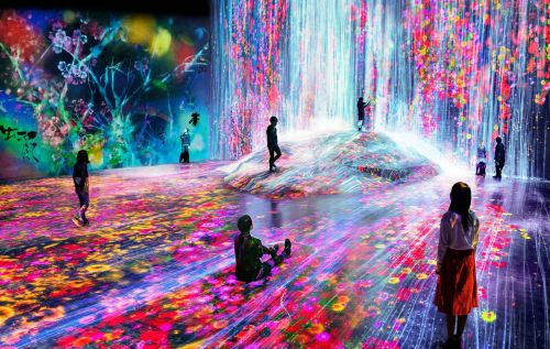 Become one with art at Tokyo's psychedelic digital museum