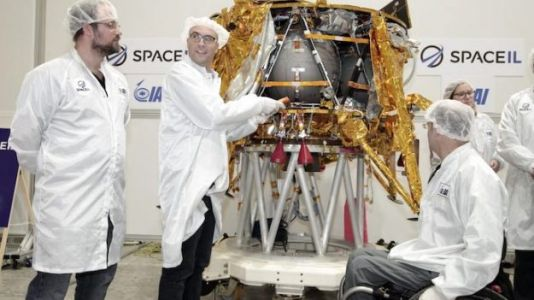 Historic Israeli Moon Mission Will Carry Time Capsule to Space