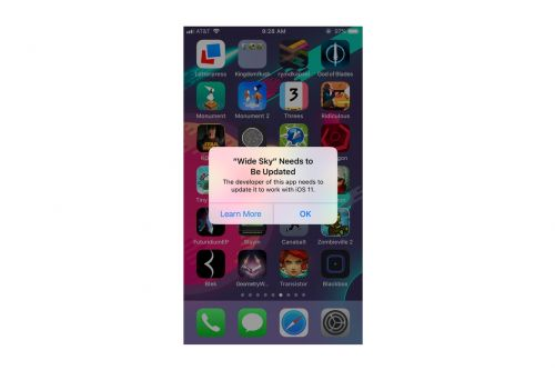 Some apps won't work on iOS 11 - here's how to check which ones