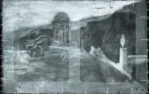 Picasso painting x-ray reveals hidden landscape artwork