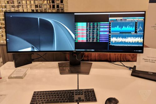 Dell unveils the first 49-inch ultra-wide monitor with QHD resolution