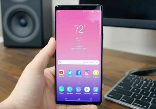 Samsung Galaxy Note 9 getting big discount at Amazon today