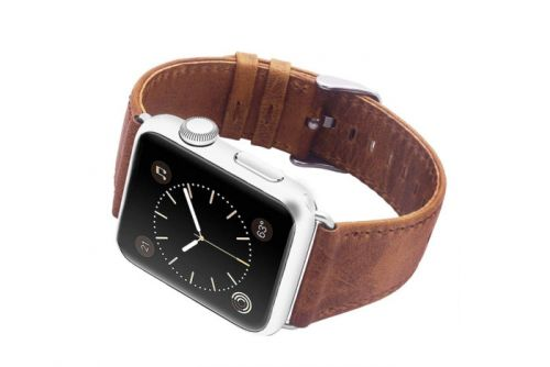 Buy a stylish leather Apple Watch band for just $5