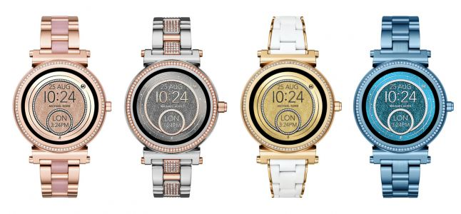 Michael Kors offers Android Wear smartwatches in more colors