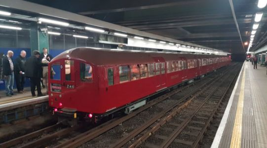 Tickets Alert: More rides on the 1938 art-deco tube train