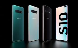 Samsung's first 5G smartphone is a supersized S10 with quad cameras