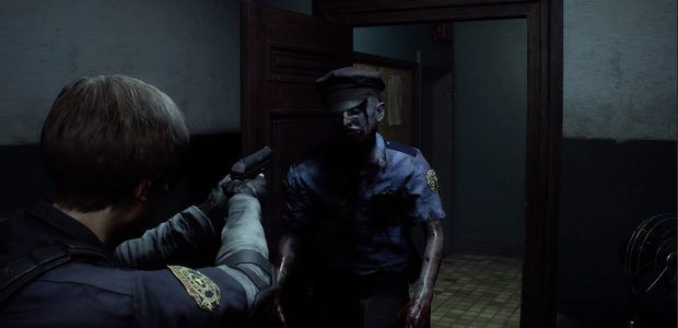 Watch 5 minutes of the gory Resident Evil 2 remake