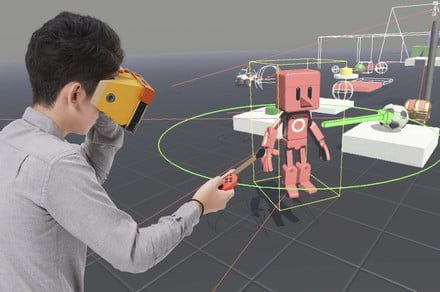 Nintendo Labo: VR Kit has a ton of games you can play with starting April 12