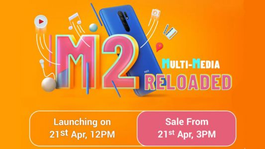 Poco M2 Reloaded is coming to India and will be available on Flipkart