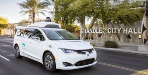 Waymo's fleet of self-driving cars drive over 40,000 km a day