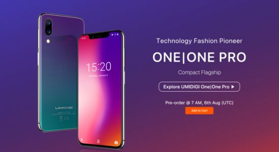 Confirmed: UMIDIGI One Series Goes on Presale August 6th Over at AliExpress