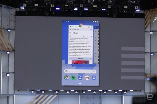 Android P introduces iPhone X-like navigation swipes and gestures