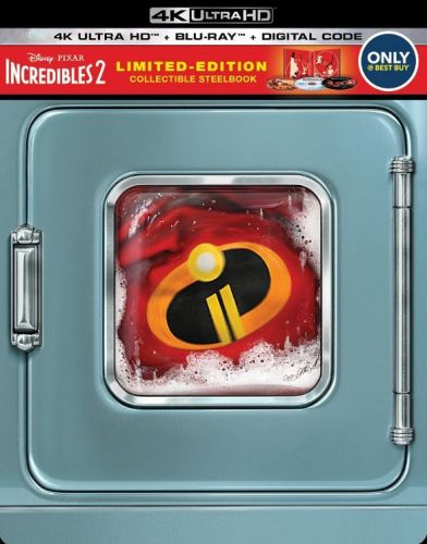 Best Buy Begins 'Incredibles 2' 4K UHD, Blu-ray, DVD and Steelbook Pre-Orders