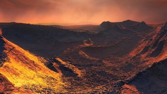 Barnard's Star Hosts Icy Planet With Potential for Alien Life
