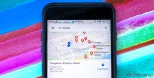 Google Maps now shows EV charging stations