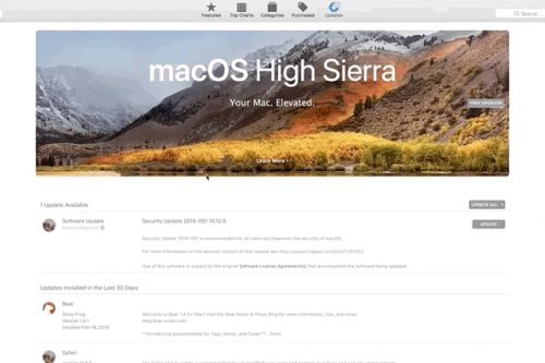 How to stop annoying High Sierra upgrade prompts in macOS