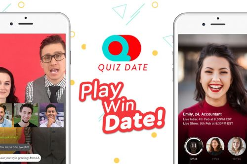 A new dating app mashes up HQ Trivia with Tinder