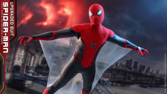 Hot Toys Reveals Spider-Man's New Black and Red Suit Action Figure From SPIDER-MAN: FAR FROM HOME