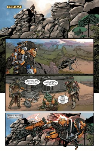 Anthem Gets A Tie-In Comic Ahead Of Release