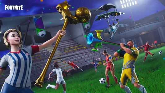 Fortnite celebrates the World Cup with a stadium and new items