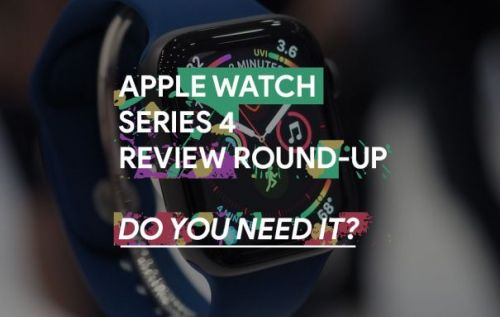 Apple Watch Series 4 review roundup: Do you need it?