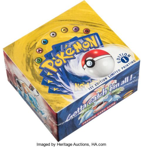 Box of Pokemon TCG Booster Packs Sells for $400,000 at Auction