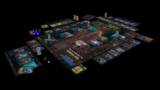 Shadowrun: Sprawl Ops Boardgame Kickstarter Launched by Catalyst Game Labs
