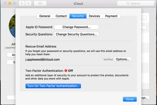 How to recover an iCloud account when a factor for two-factor authentication goes missing