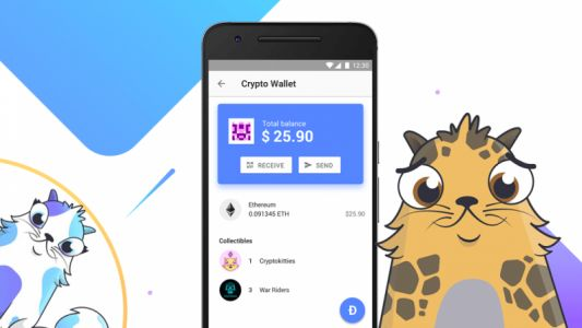 You can now send CryptoKitties with Opera's cryptocurrency wallet