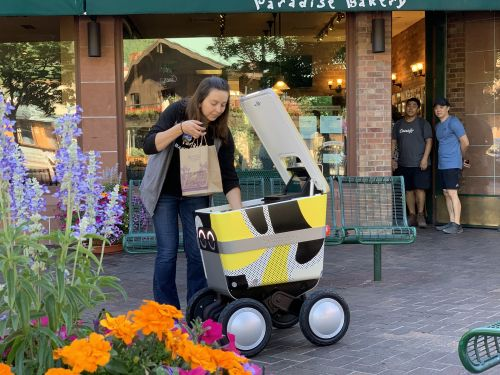 Uber planning to spin out Postmates' delivery robot arm