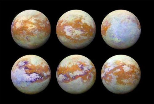 NASA shows off incredibly clear images of Saturn's moon Titan