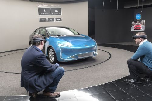 Ford is using Microsoft's HoloLens to design cars in augmented reality