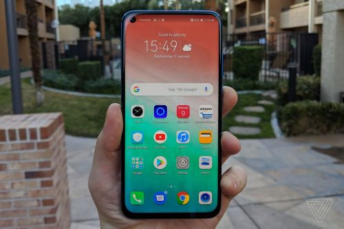The Honor View 20 with a hole-punch display launches in Europe for €569
