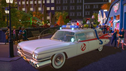 The Ghostbusters Are Coming To Planet Coaster