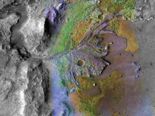 NASA will dig for signs of alien life in Mars' Jezero Crater - the landing site for its 2020 rover