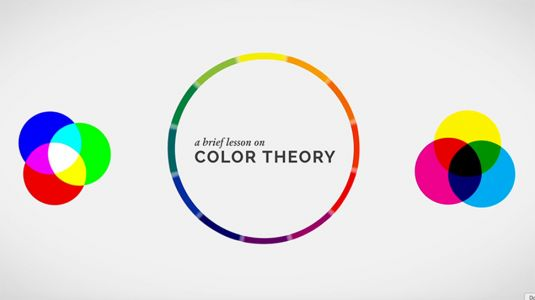 A short lesson on colour theory