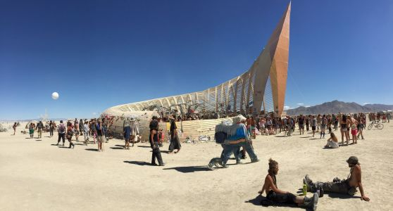 23 insane structures built at Burning Man through the years