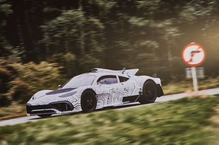 Get your camera out: Mercedes-AMG Project One supercar tests on public roads