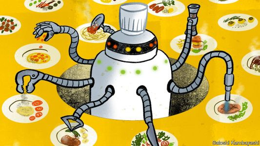 The rise of the robochef