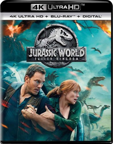 Jurassic World: Fallen Kingdom Release Date And Pre-Order Guide For Blu-Ray / 4K UHD / DVD / Digital