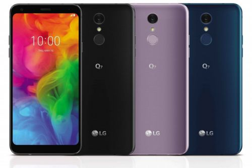 LG's Q7 phones are an upgrade to its midrange Android offerings