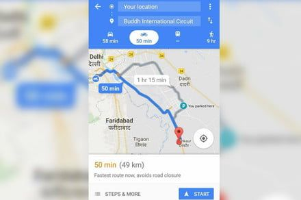 Grab your helmet: Google Maps for motorcycles is coming