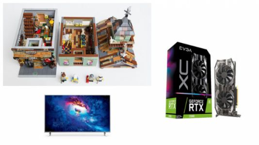 Geek Daily Deals: LEGO Apollo Saturn V Rocket, GeForce RTX 2080 Dips Below $800 and More