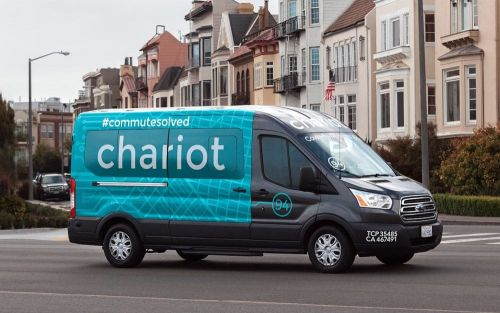 Ford applies to launch six 'Chariot' bus routes in London