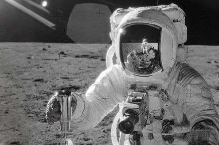 50 years later, the first camera on the moon is still collecting lunar dust