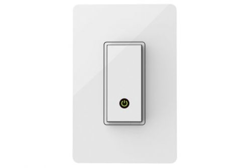 Get $15 off this Alexa- and Google Assistant-powered Wemo light switch today