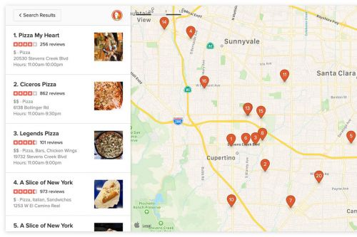 DuckDuckGo will use Apple Maps for local searches on the web