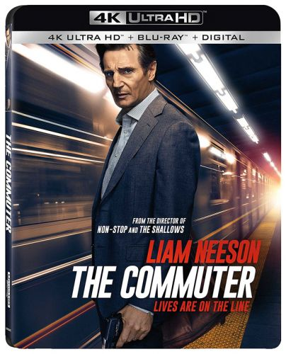 Next Stop for 'The Commuter' is on 4K Ultra HD, Blu-ray, DVD and Digital This April