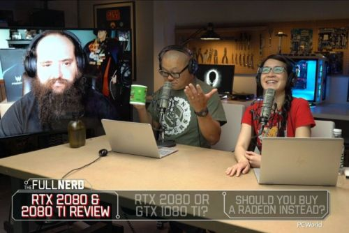 The Full Nerd ep. 68: GeForce RTX review, RTX 2080 vs. GTX 1080 Ti, what about Radeon?