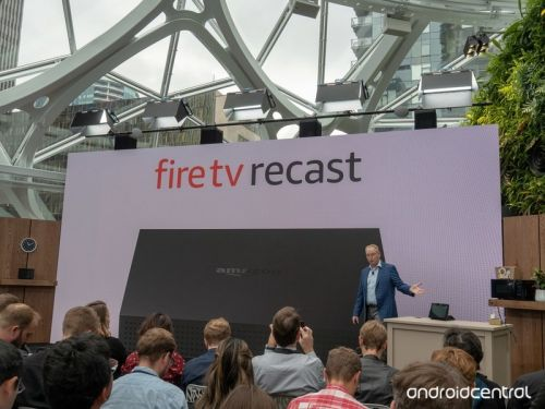 The Fire TV Recast sends local television to your Echo Shows and Fire TVs